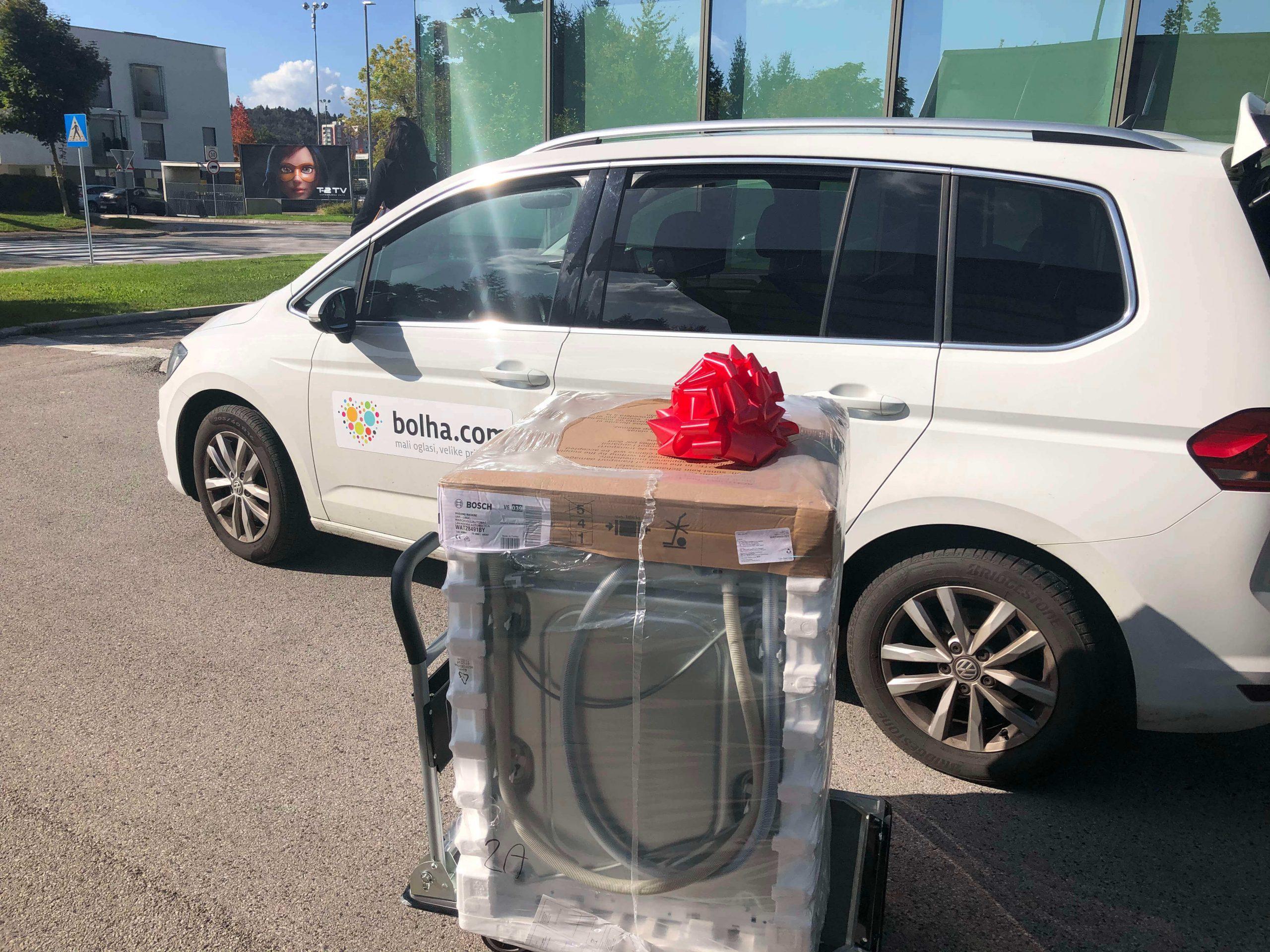 Podarili smo pralni stroj 7