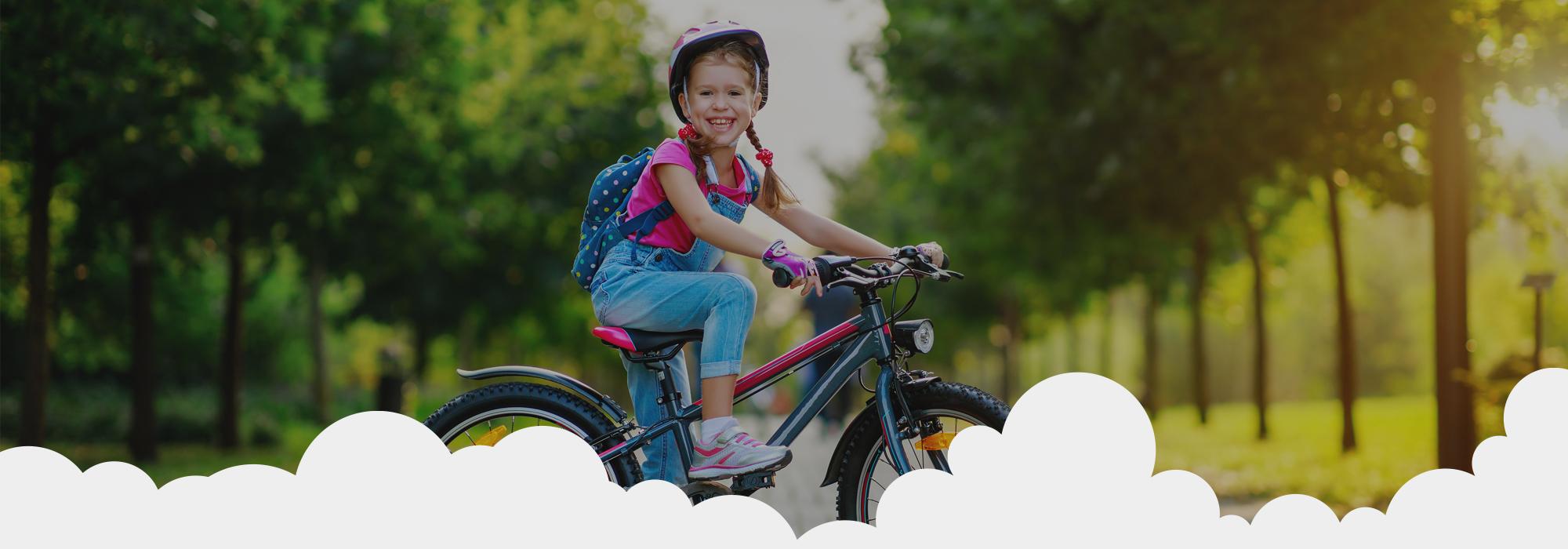 Aprila 2021 smo podarili kolo 7 letni deklici iz Ljubljane